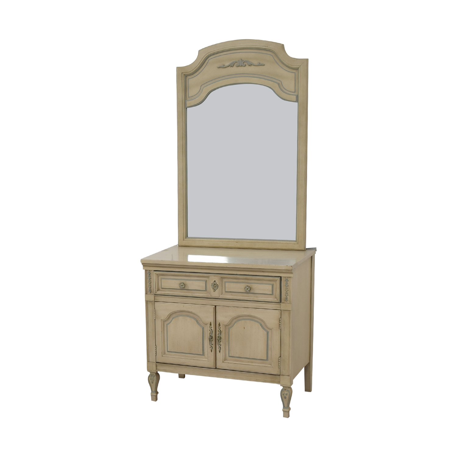 buy Dixie Furniture Company Dixie Furniture Chest with Mirror online