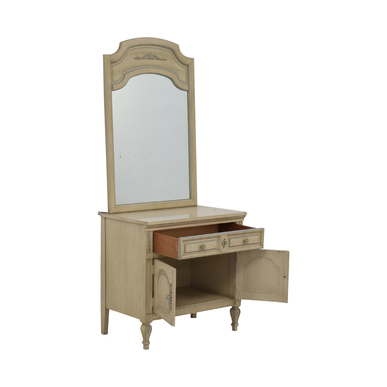 Dixie Furniture Chest with Mirror / Storage
