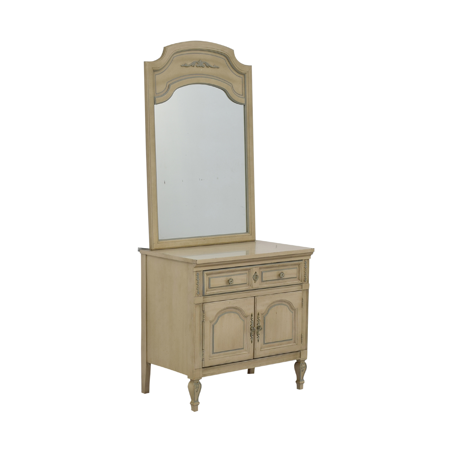 Dixie Furniture Company Dixie Furniture Chest with Mirror nj