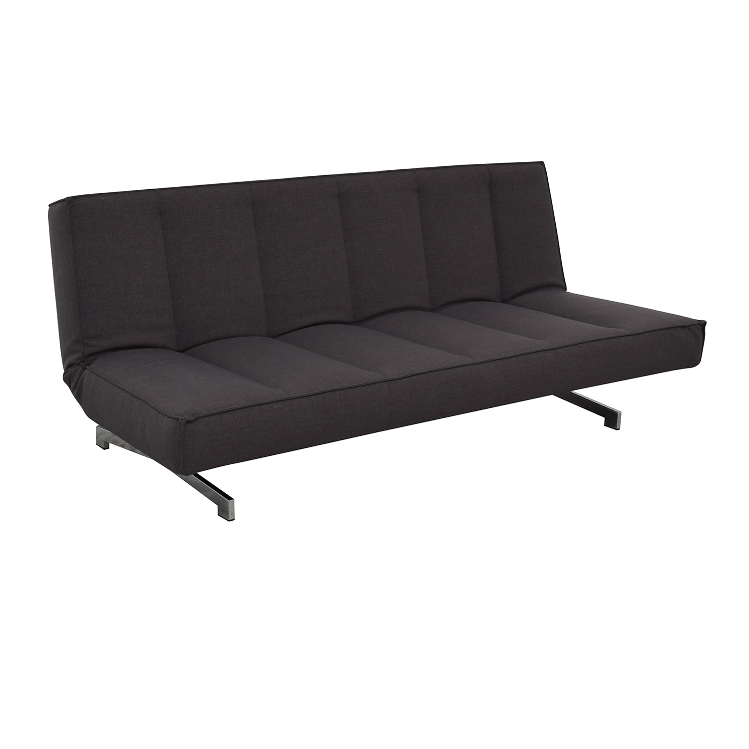 shop CB2 Flex Gravel Sleeper Sofa CB2 Sofas