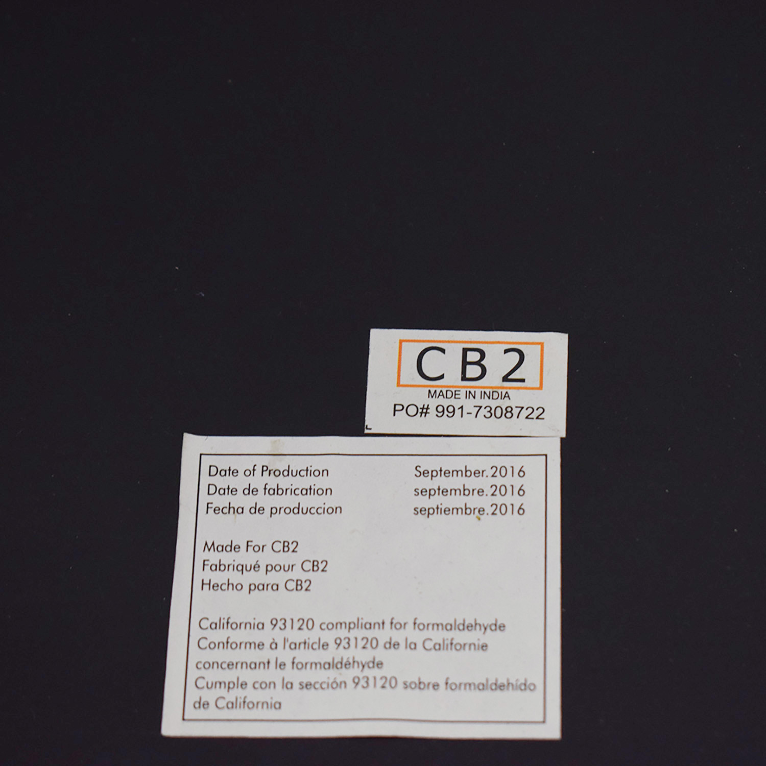 CB2 CB2 Stern Counter Table for sale