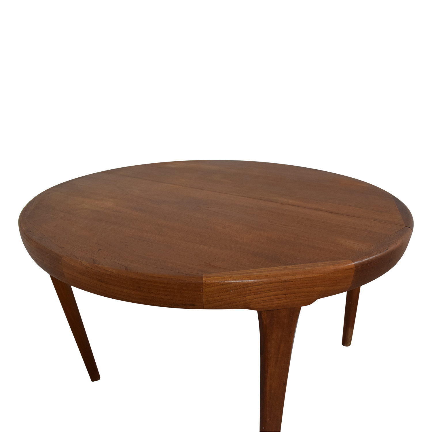 Contemporary Extendable Dining Table BROWN