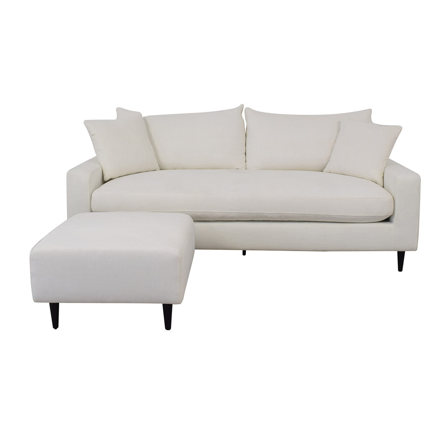 Sloan Sofa and Tegan Ottoman / Classic Sofas