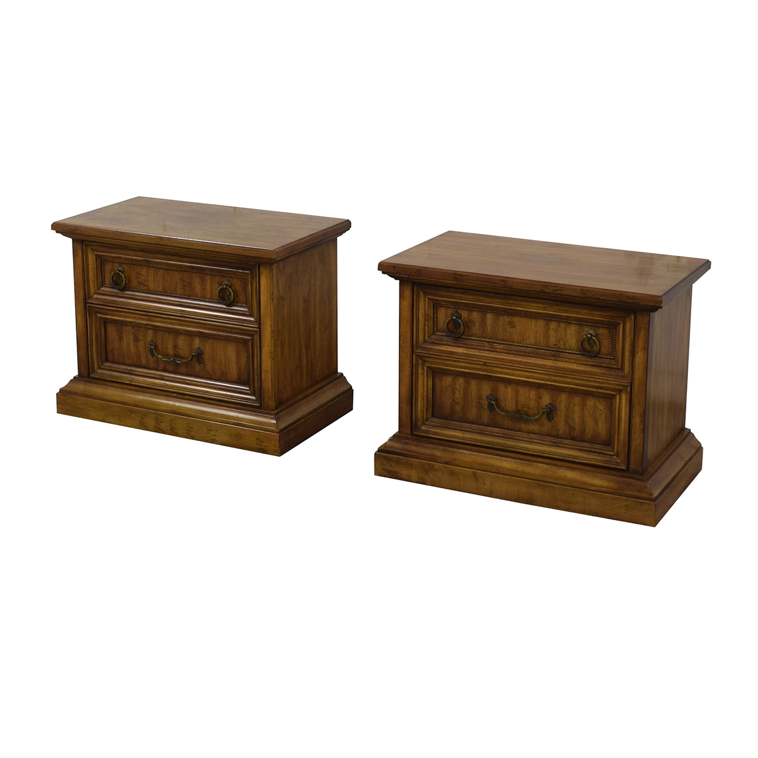 buy Stanley Furniture Two-Drawer End Tables Stanley Furniture Tables