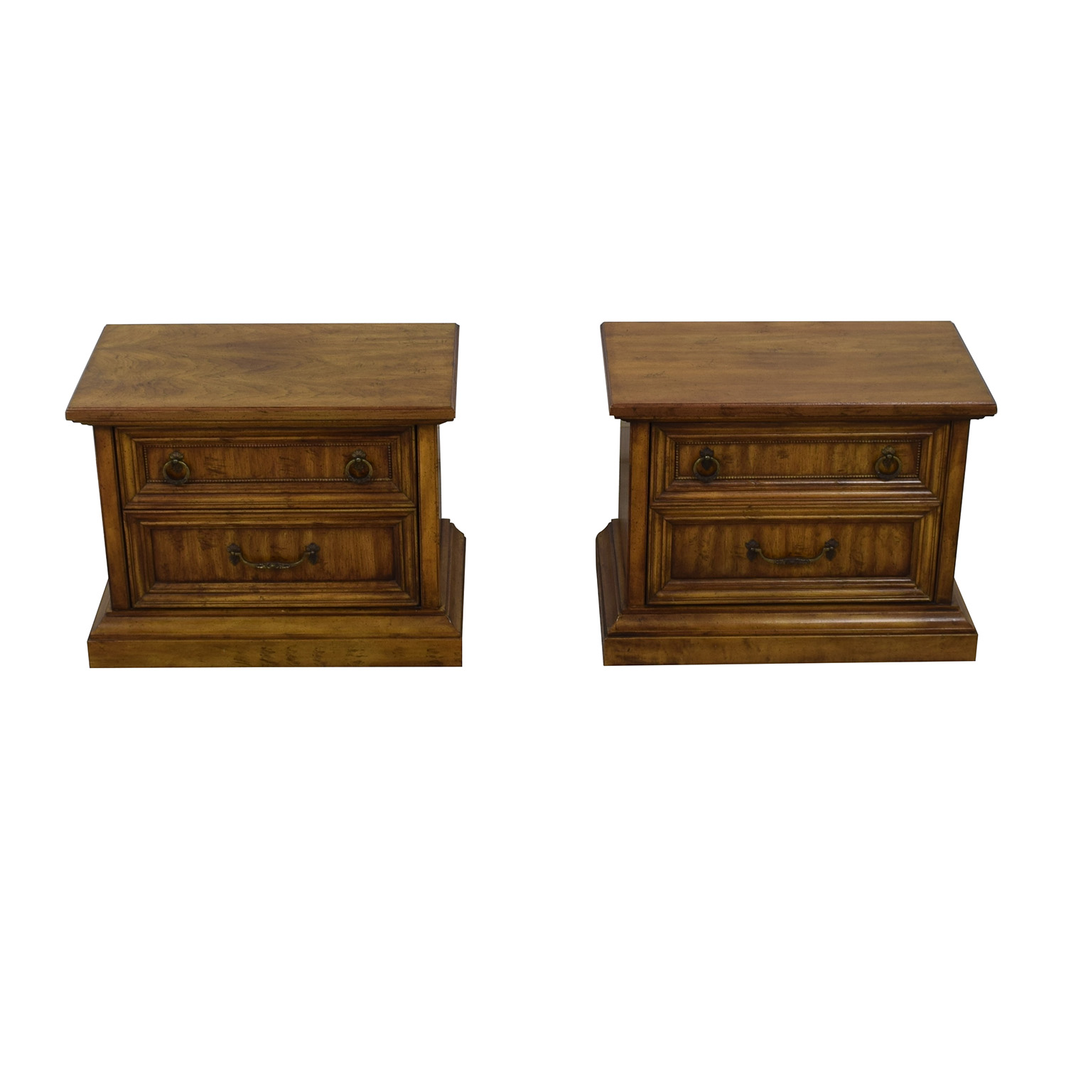 Stanley Furniture Stanley Furniture Two-Drawer End Tables dimensions