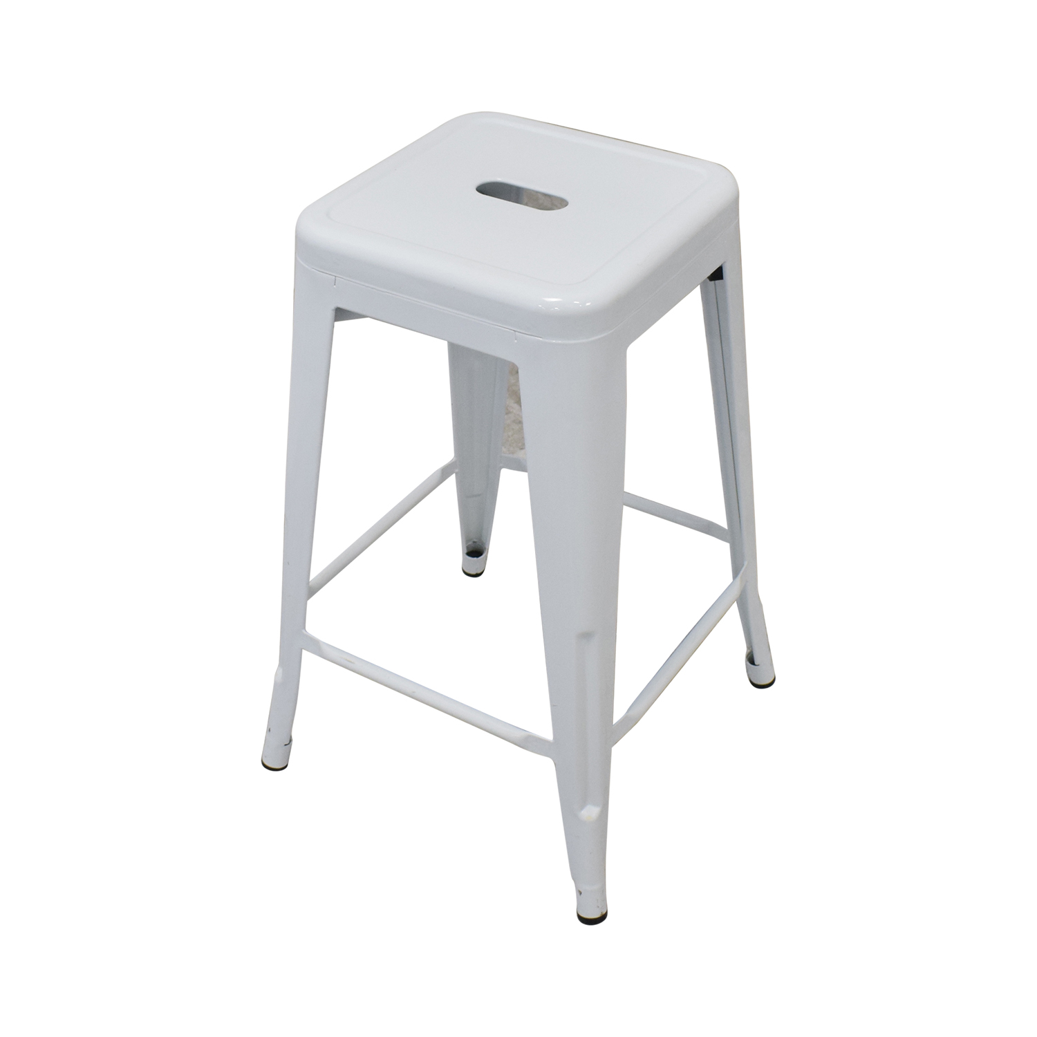 White Metal Stools for sale