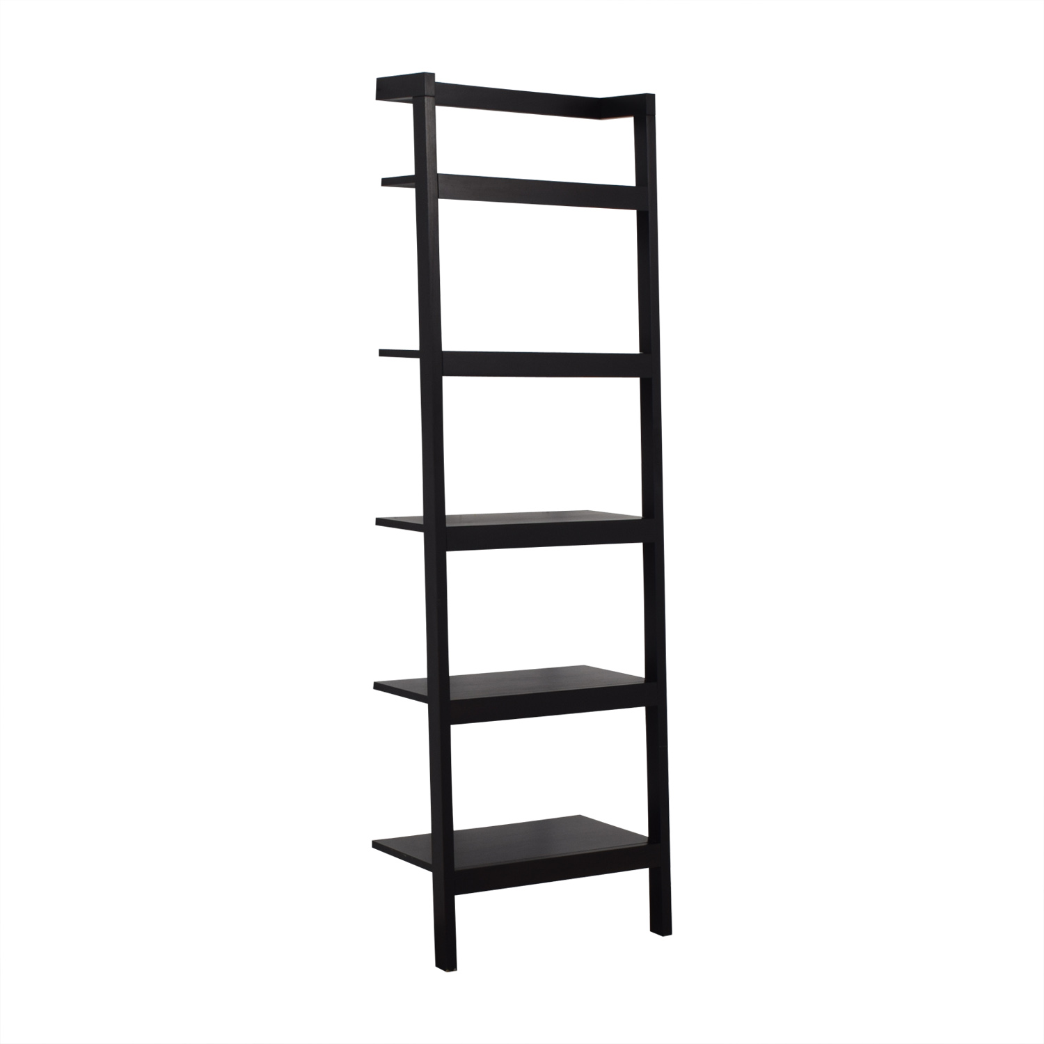 buy Crate & Barrel Sawyer Leaning Bookcase Crate & Barrel Bookcases & Shelving