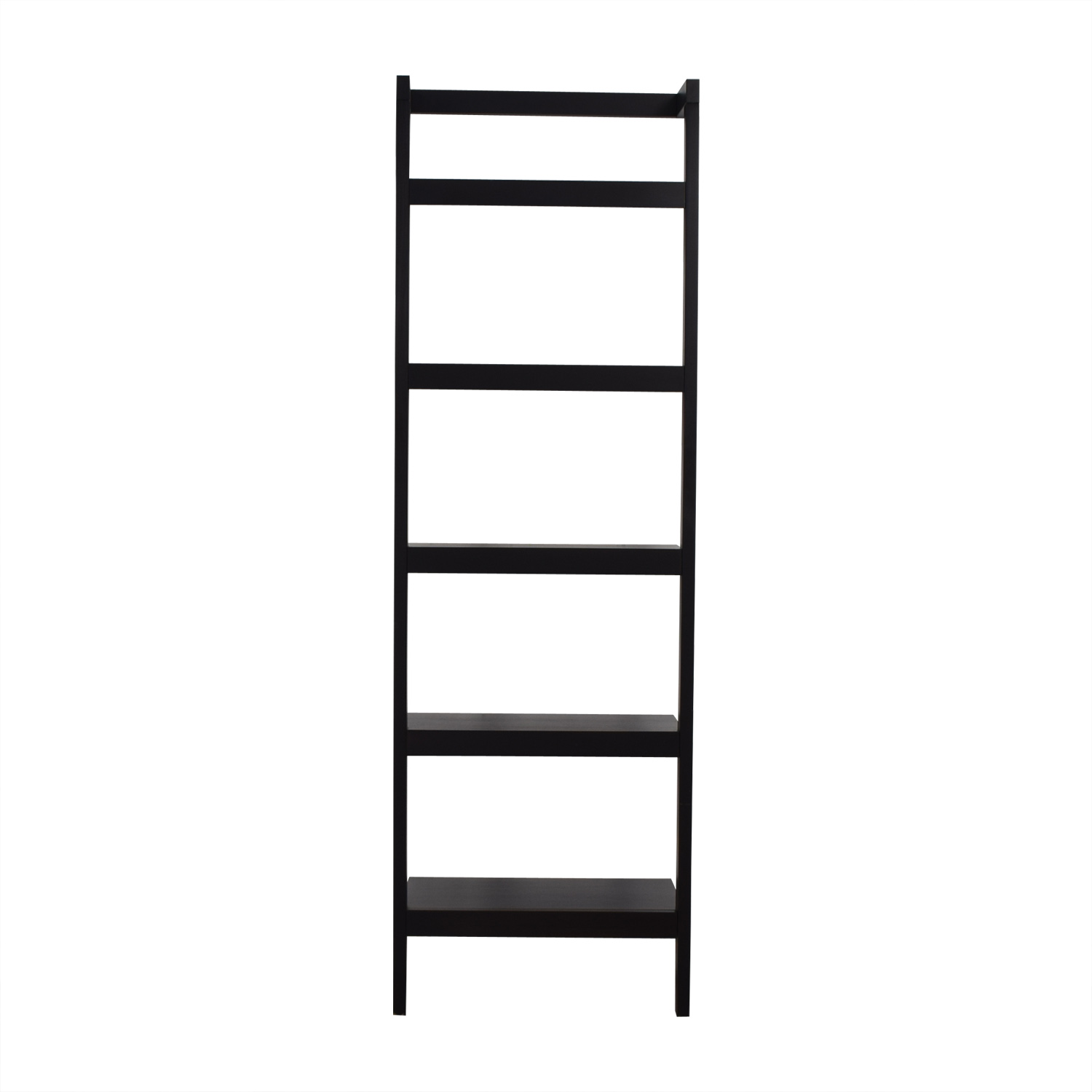 buy Crate & Barrel Sawyer Leaning Bookcase Crate & Barrel