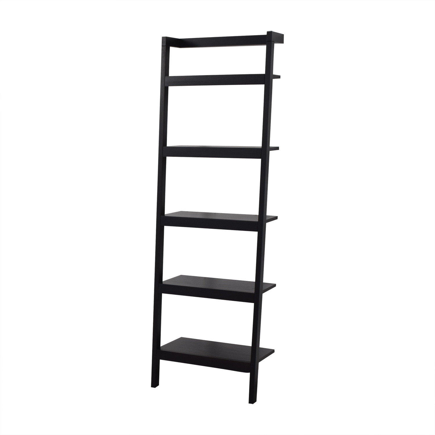 Crate & Barrel Crate & Barrel Sawyer Leaning Bookcase Bookcases & Shelving