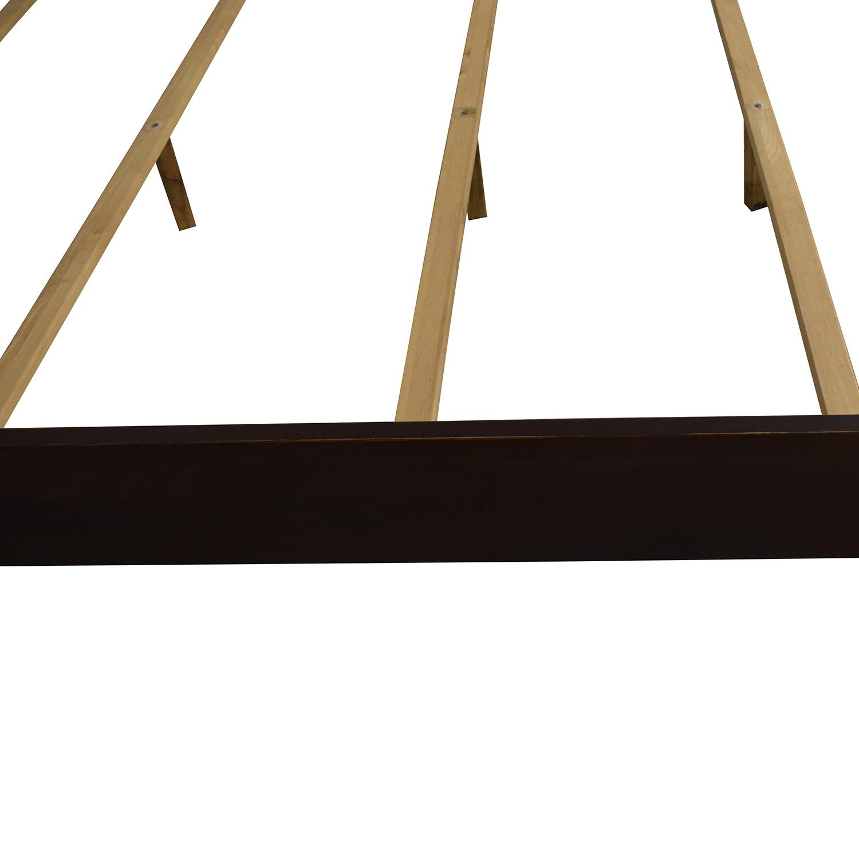 Ethan Allen Ethan Allen Horizons Lotus Queen Bed Frame Bed Frames
