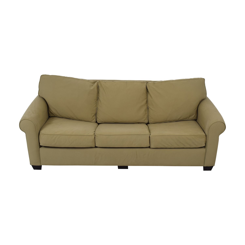 Pottery Barn Buchanan Roll Arm Upholstered Sleeper Sofa / Classic Sofas