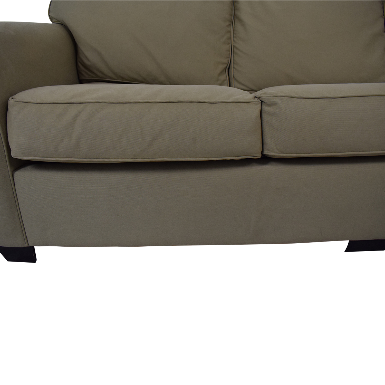 87 Off Pottery Barn Pottery Barn Buchanan Roll Arm Upholstered Sleeper Sofa Sofas