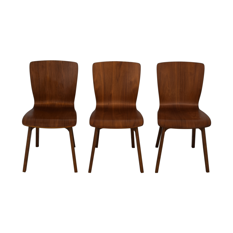 shop West Elm West Elm Crest Bentwood Dining Chairs online