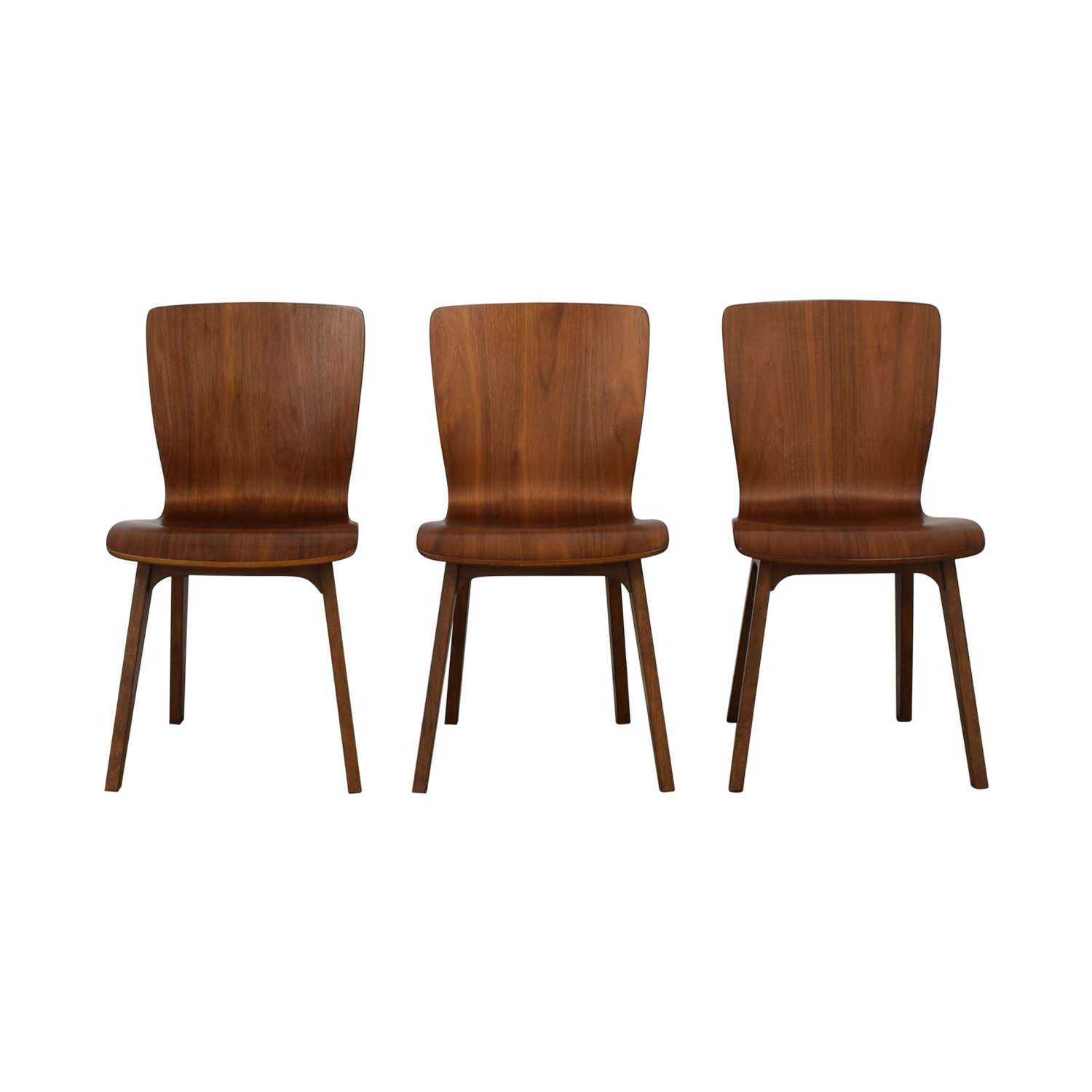 West Elm West Elm Crest Bentwood Dining Chairs Chairs