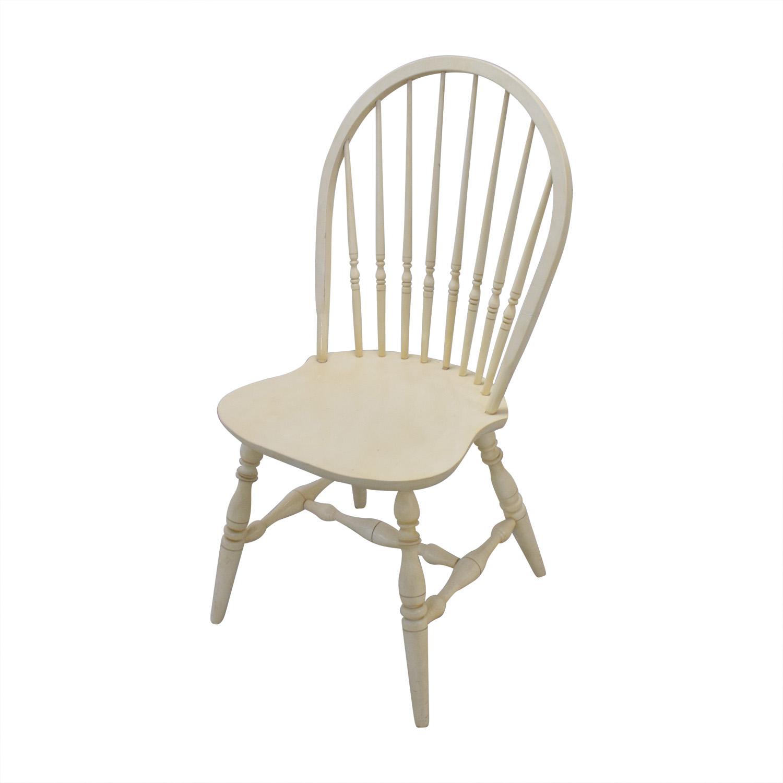 Ethan Allen Ethan Allen White Desk & Chair discount