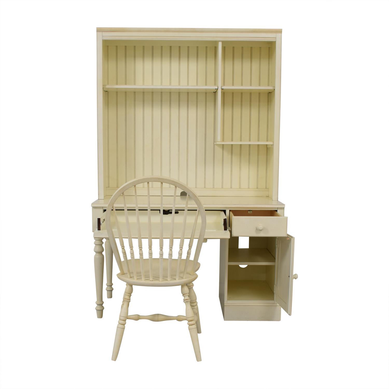Ethan Allen White Desk & Chair / Tables