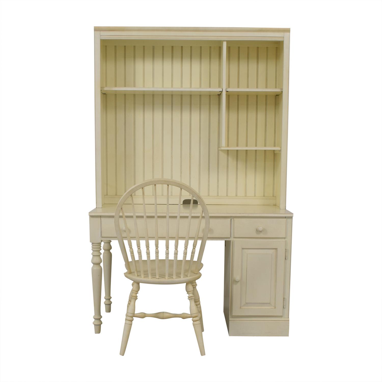 shop Ethan Allen White Desk & Chair Ethan Allen Tables