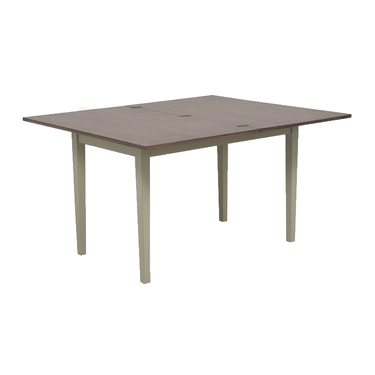 shop Crate & Barrel Flip Dining Table Small Vamelie Crate & Barrel