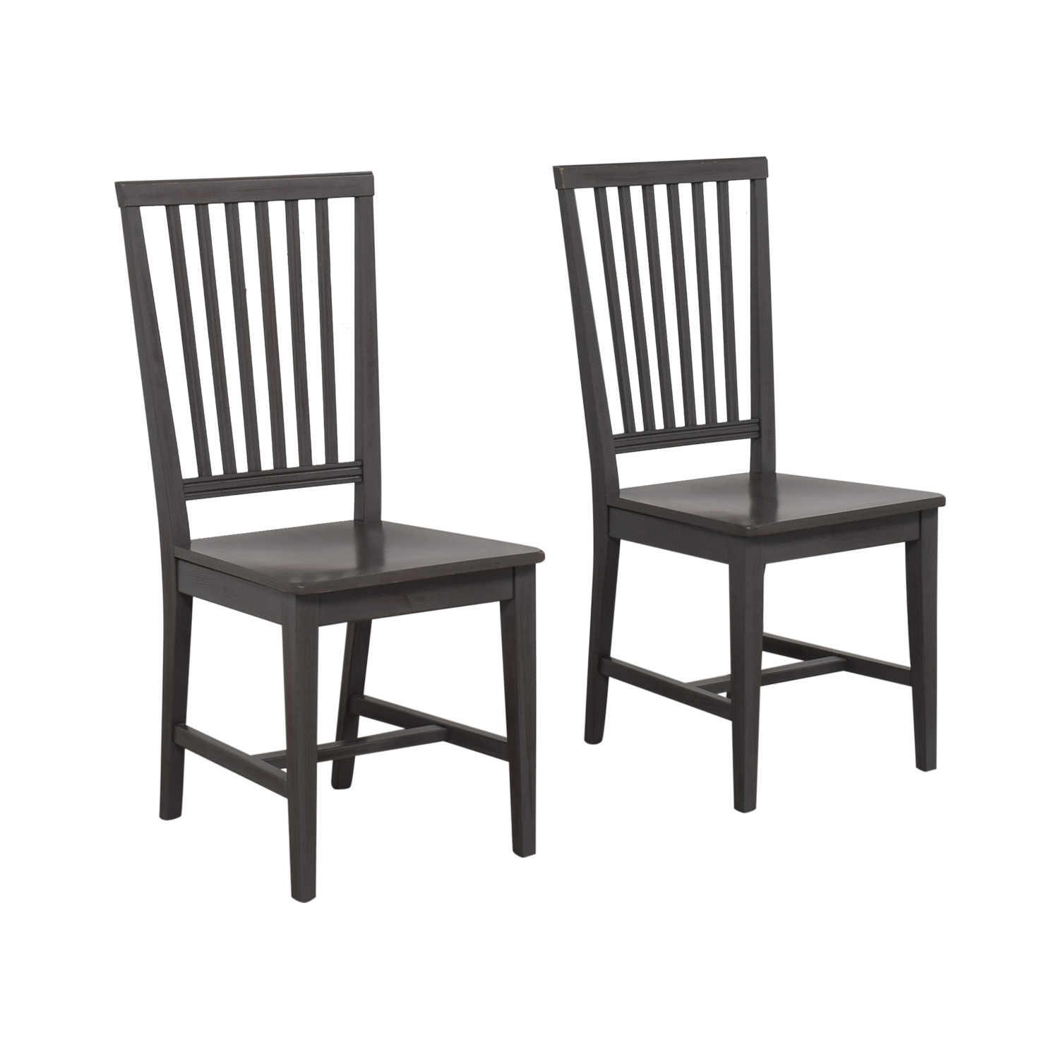 shop Crate & Barrel by Buying & Design Village Side Chair Grigio Crate & Barrel Dining Chairs