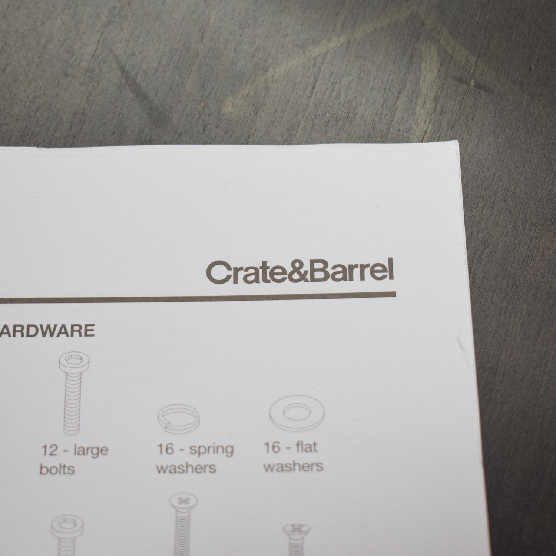 buy Crate & Barrel Parker Spirits Cabinet Crate & Barrel