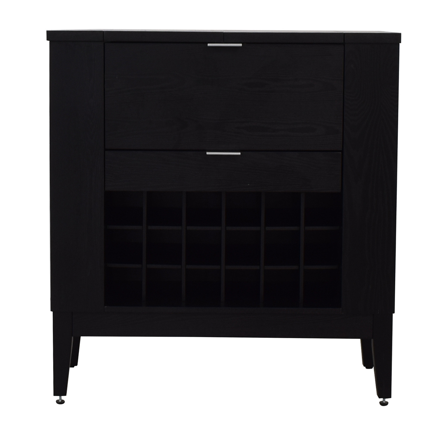 Crate & Barrel Crate & Barrel Parker Spirits Cabinet Utility Tables