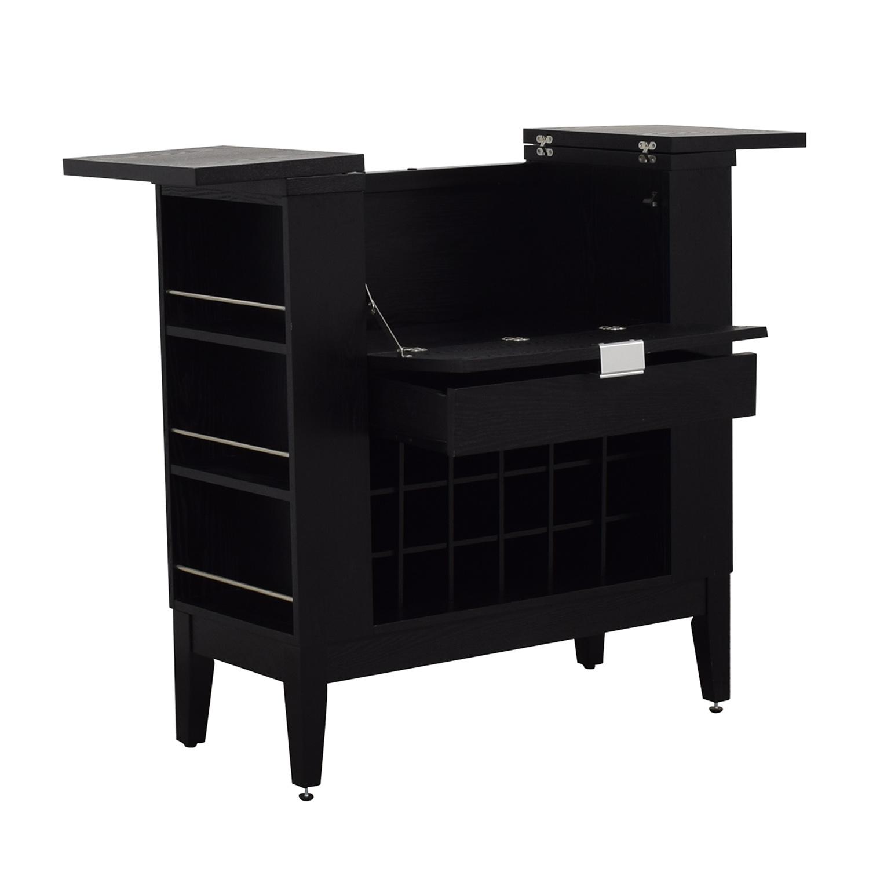 Crate & Barrel Crate & Barrel Parker Spirits Cabinet Utility Tables