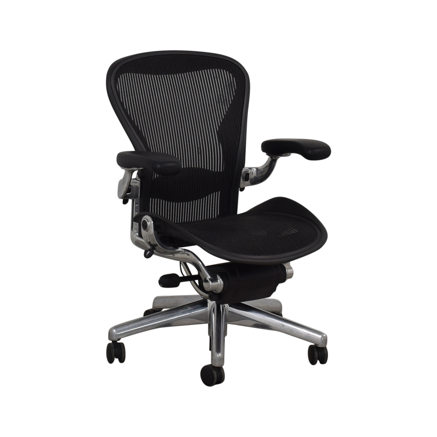 Herman Miller Herman Miller Aeron Size B Black Office Desk Chair Home Office Chairs