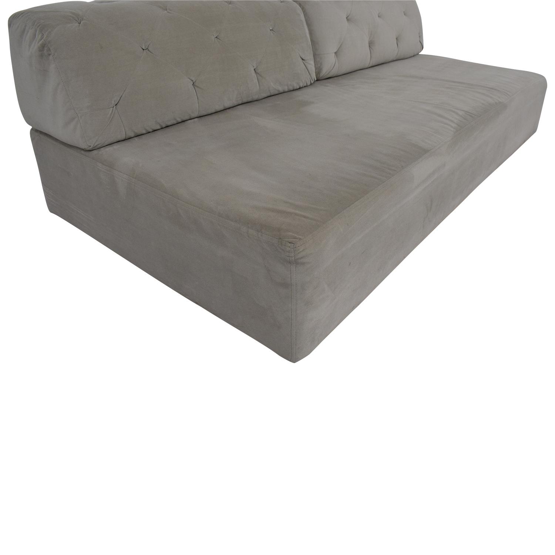 West Elm Tillary Tufted Sofa sale