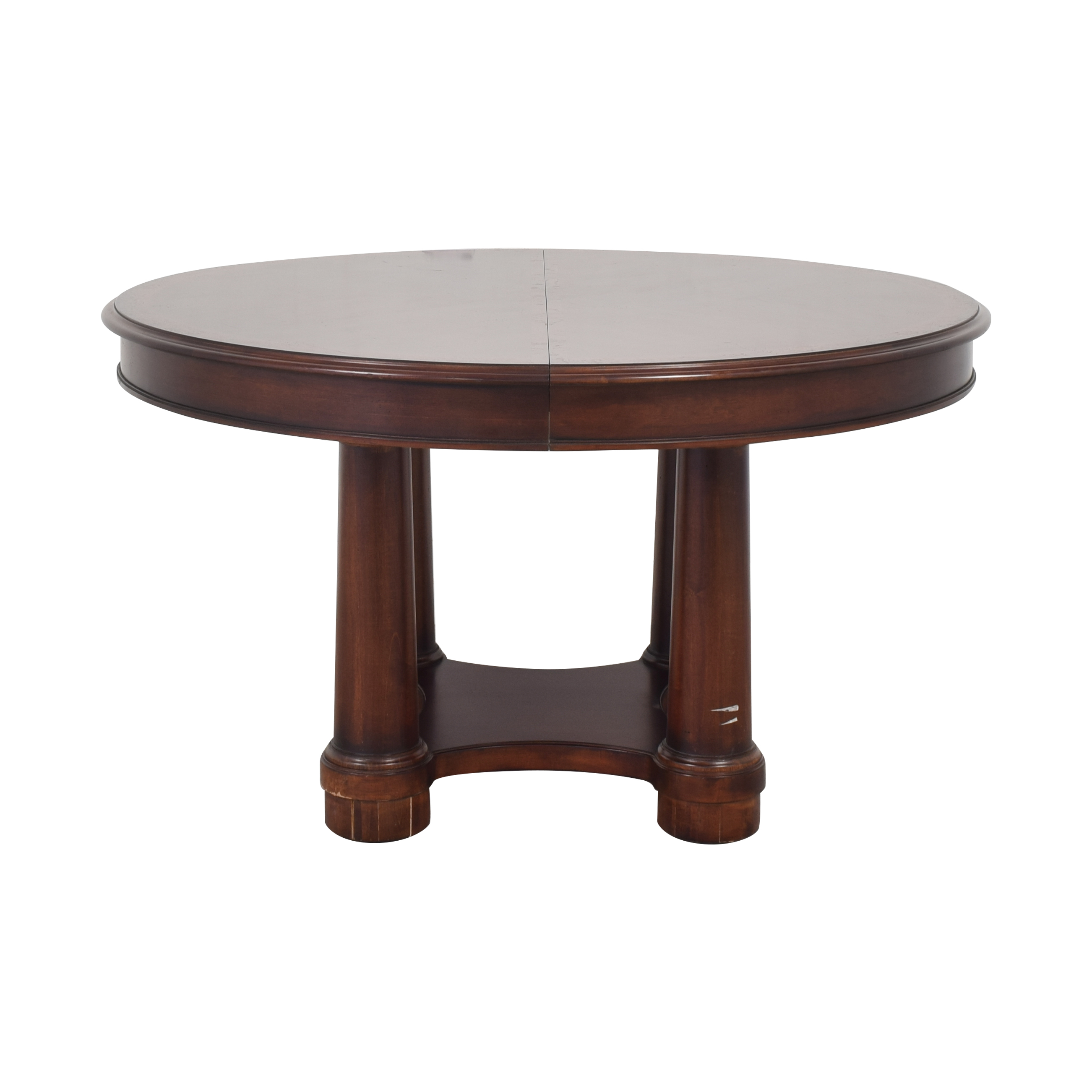 Hickory White Hickory White Dining Table brown