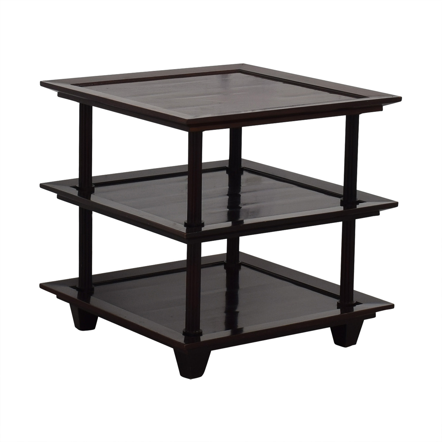 buy Baker Furniture by Barbara Barry Three Tiered Accent Table Baker Furniture