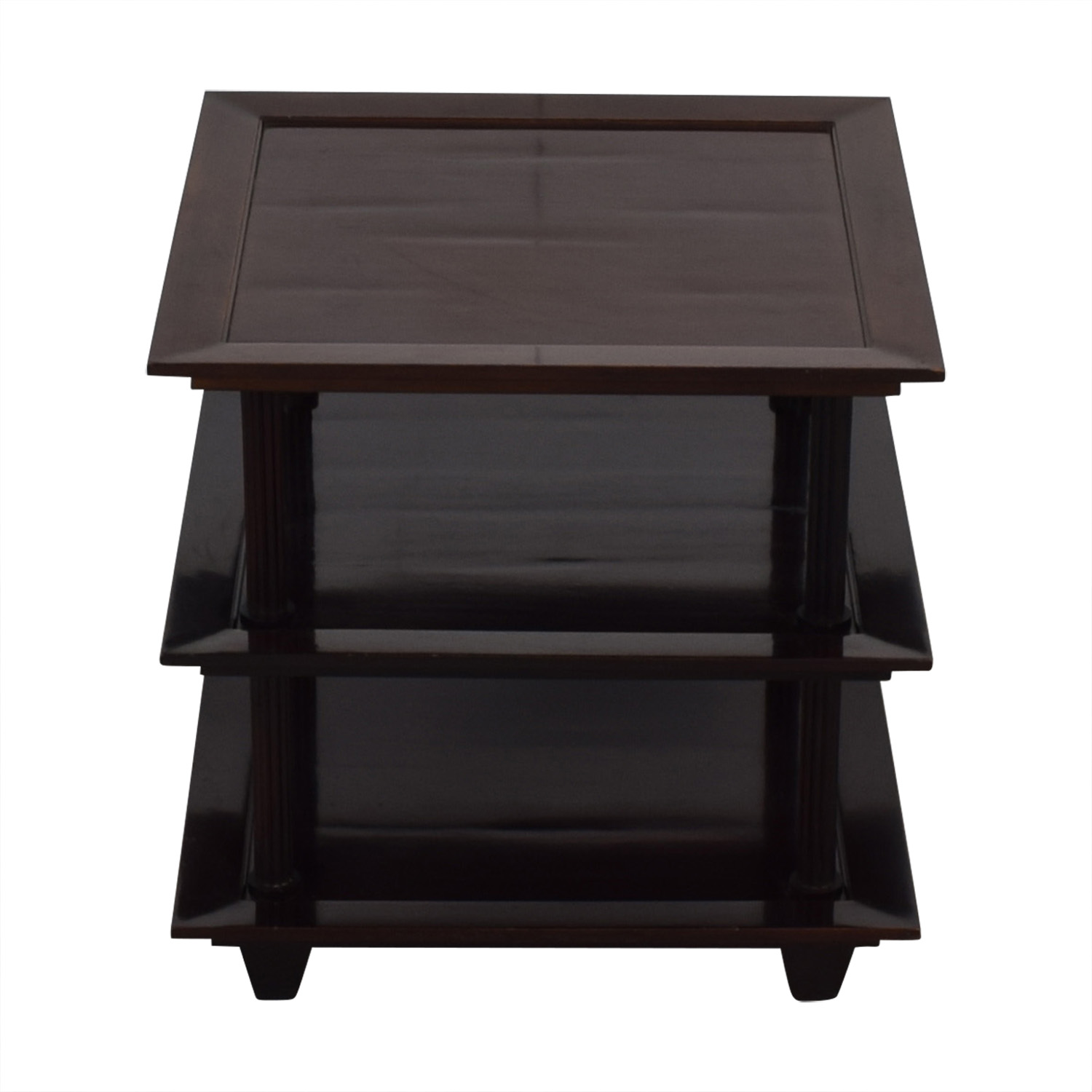 shop Baker Furniture by Barbara Barry Three Tiered Accent Table Baker Furniture Tables
