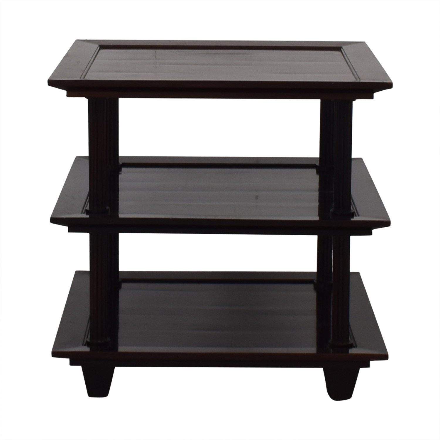 Baker Furniture Baker Furniture by Barbara Barry Three Tiered Accent Table nj
