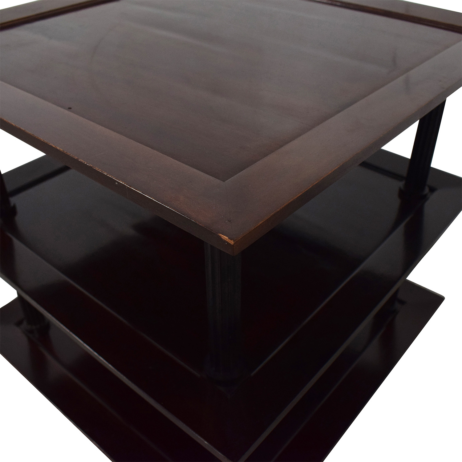 Baker Furniture by Barbara Barry Three Tiered Accent Table / Tables