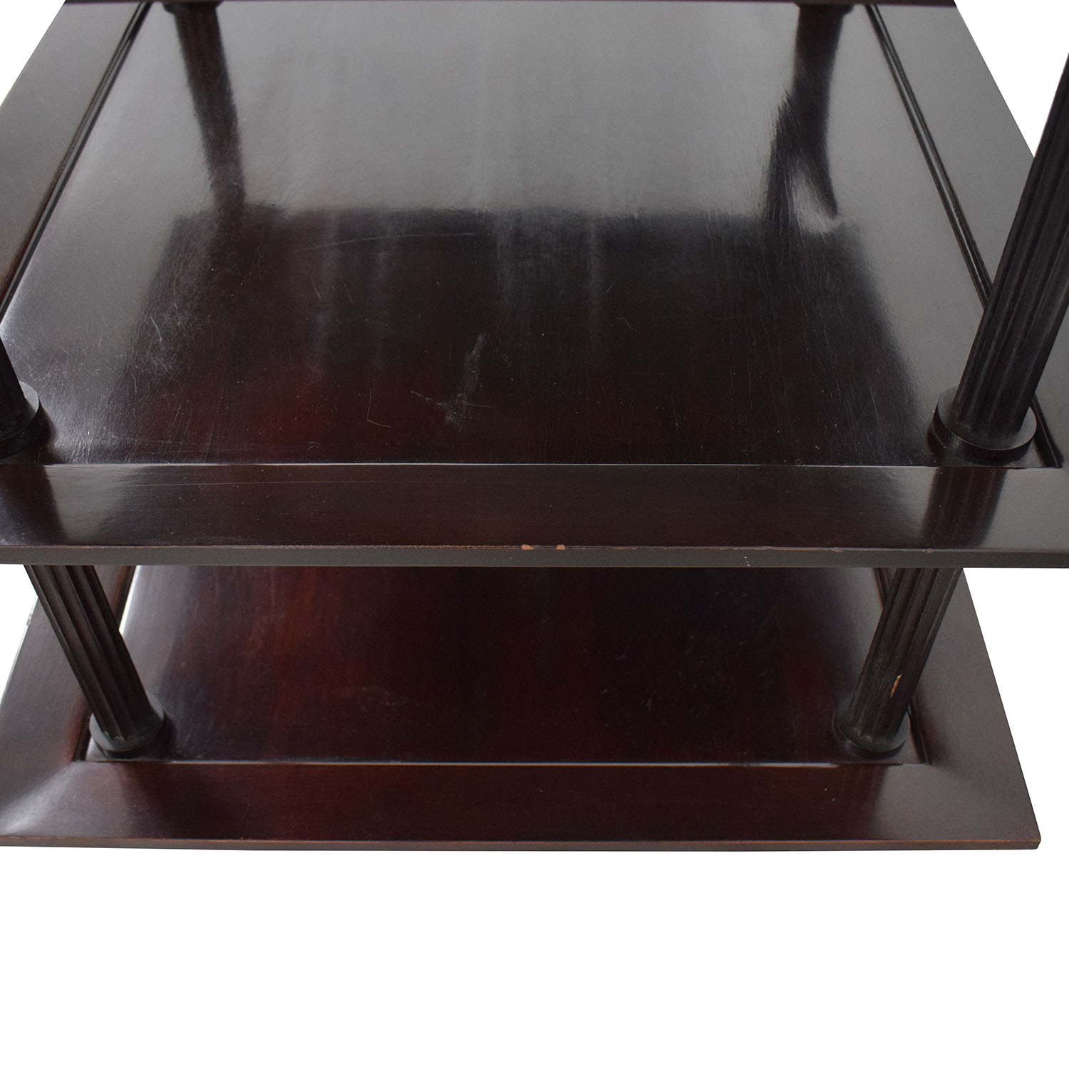 Baker Furniture Baker Furniture by Barbara Barry Three Tiered Accent Table dimensions