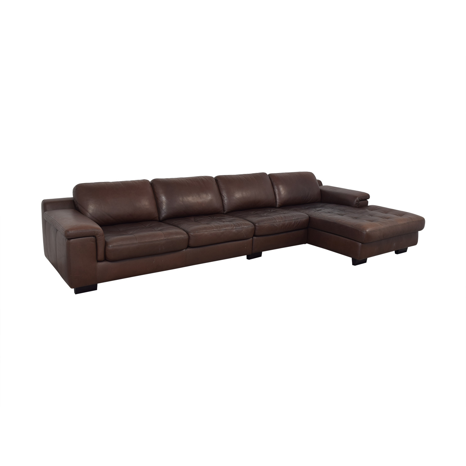 W. Schillig Tufted Sectional / Sofas