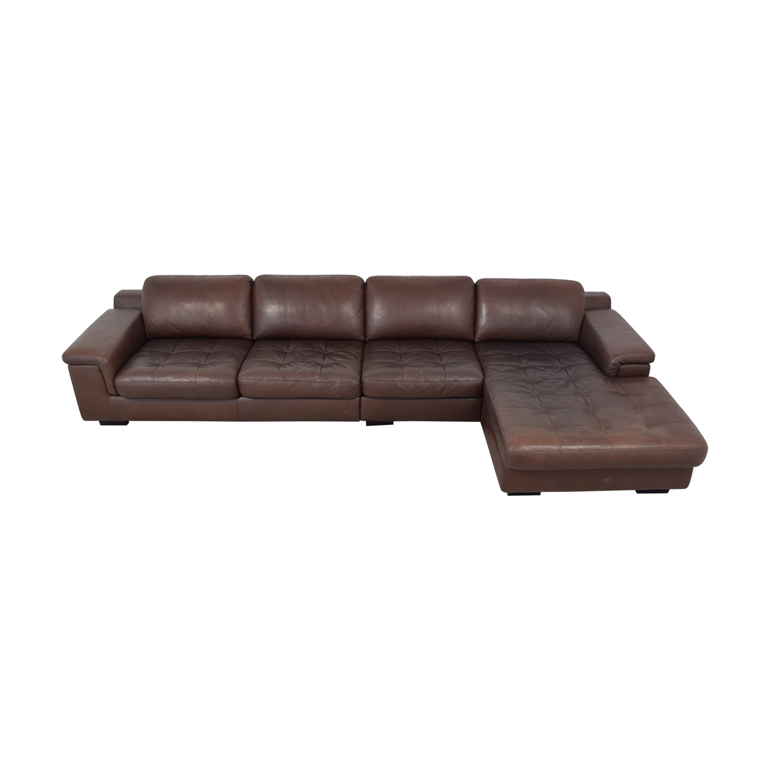 W. Schillig Tufted Sectional sale