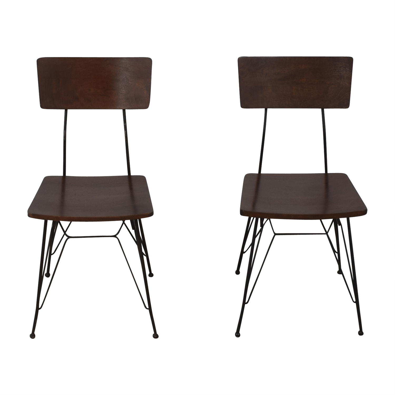 Crate & Barrel Crate & Barrel Elston Dining Chairs on sale