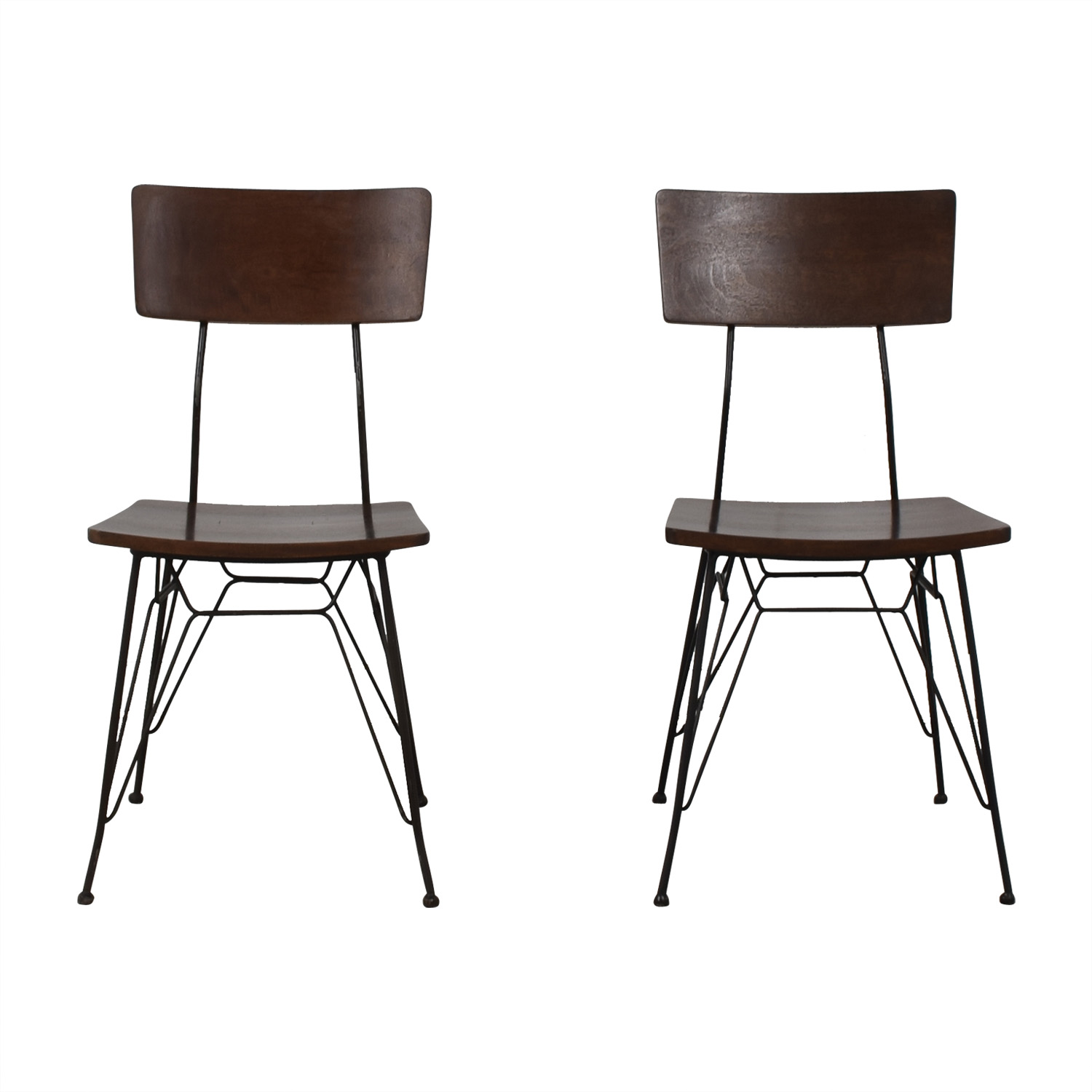 Crate & Barrel Crate & Barrel Elston Dining Chairs second hand