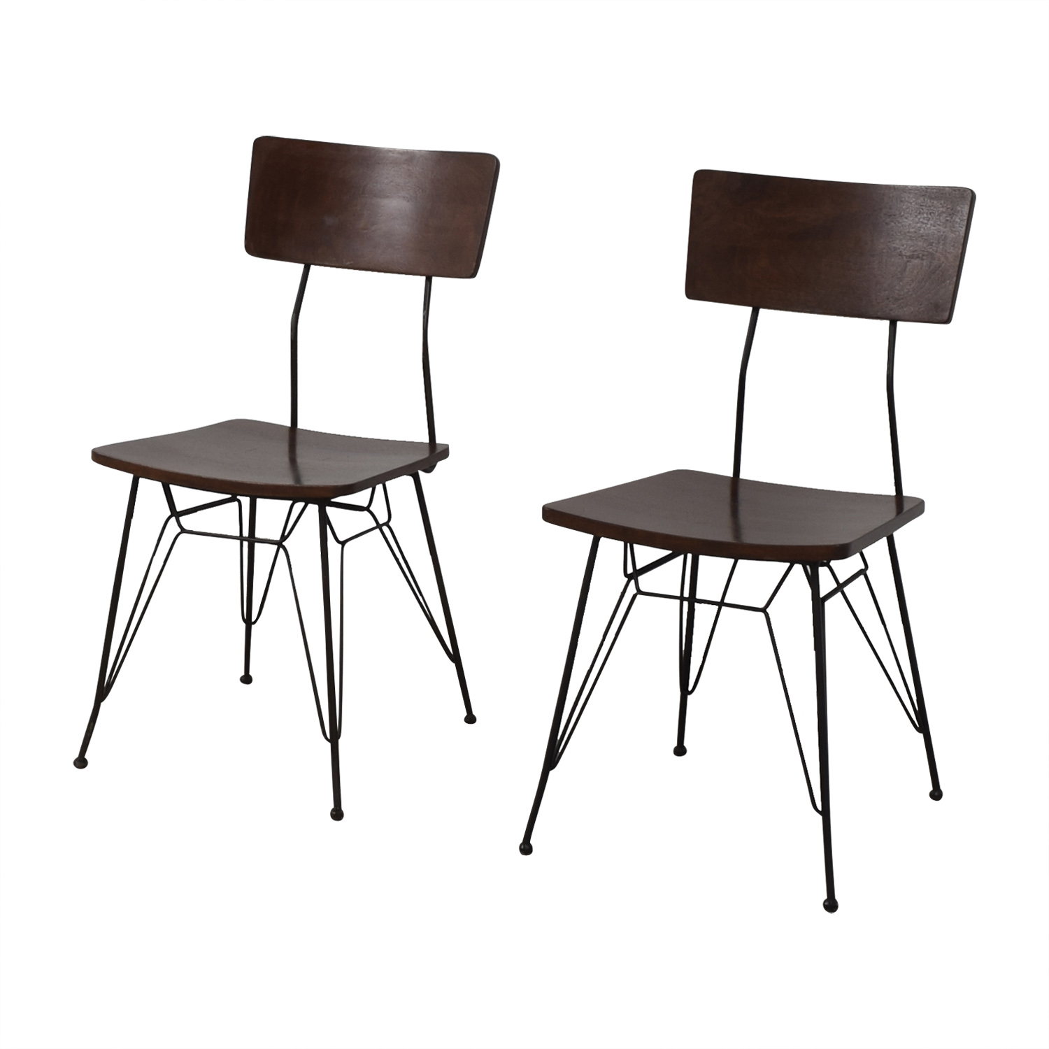 buy Crate & Barrel Elston Dining Chairs Crate & Barrel Chairs