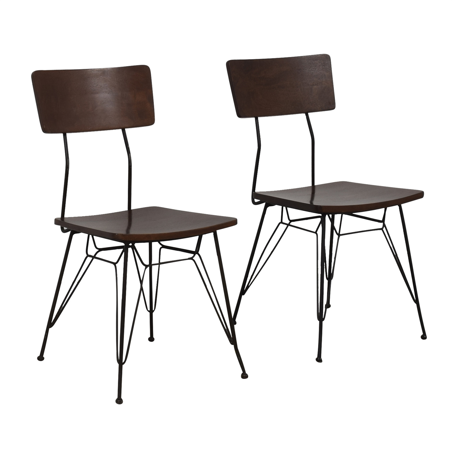 buy Crate & Barrel Elston Dining Chairs Crate & Barrel Dining Chairs