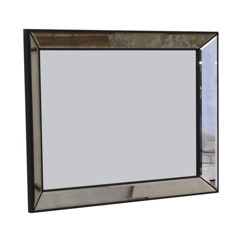Restoration Hardware Restoration Hardware Venetian Beaded Mirror Mirrors