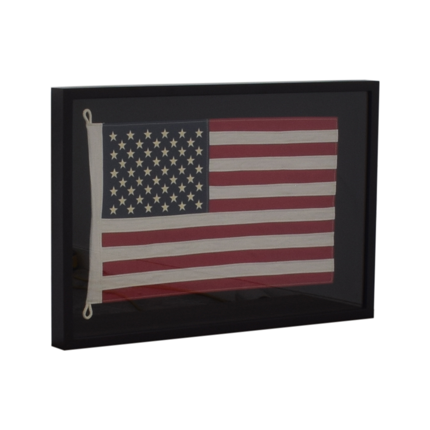 Restoration Hardware USA Framed Flag sale