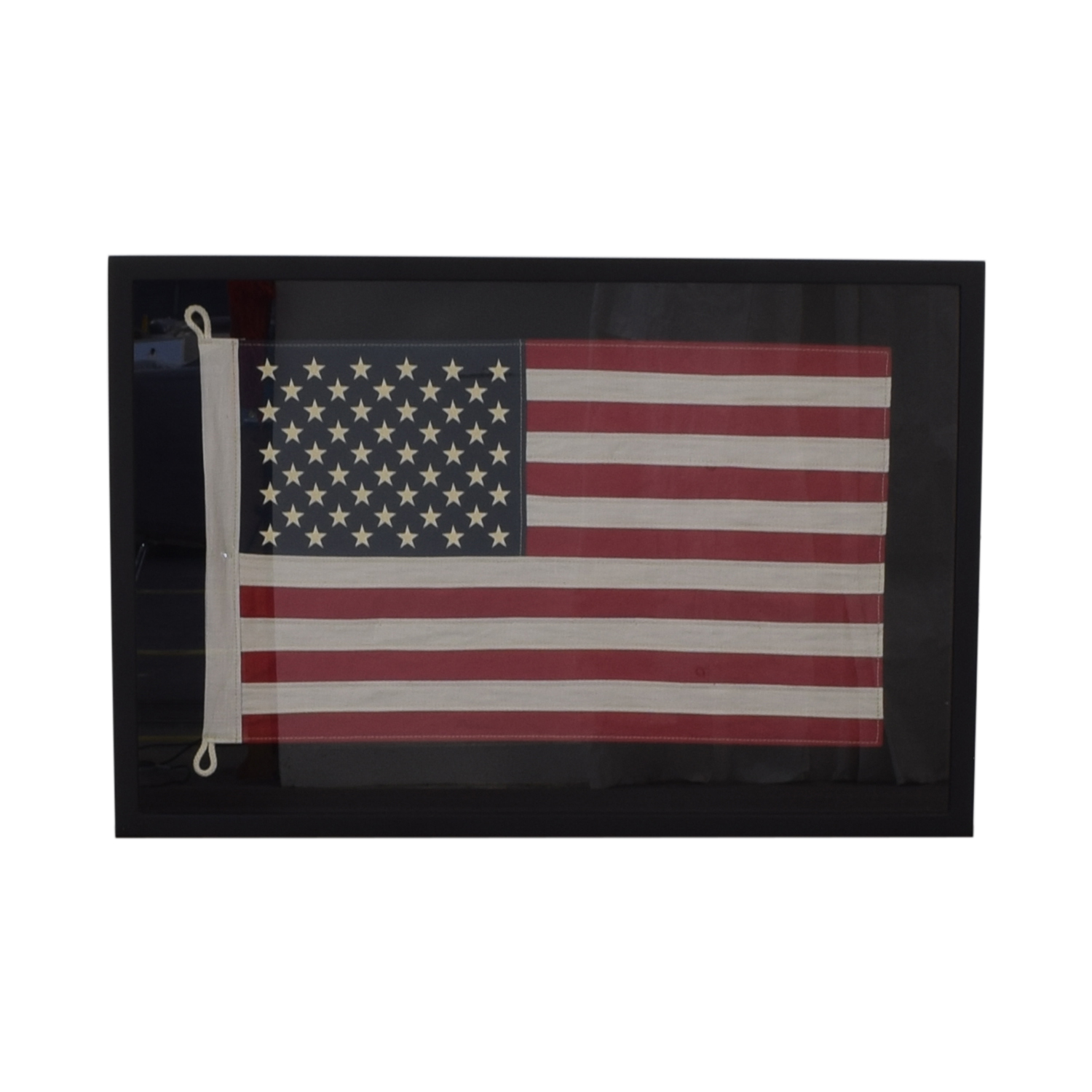 buy Restoration Hardware USA Framed Flag Restoration Hardware