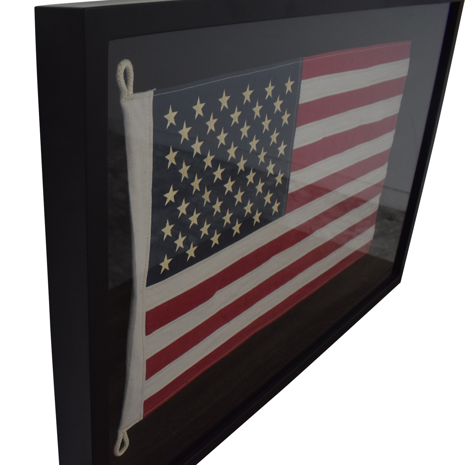 Restoration Hardware Restoration Hardware USA Framed Flag