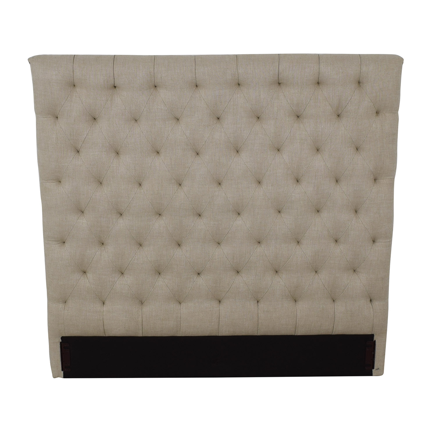 Restoration Hardware Restoration Hardware Chesterfield Fabric Panel Headboard price