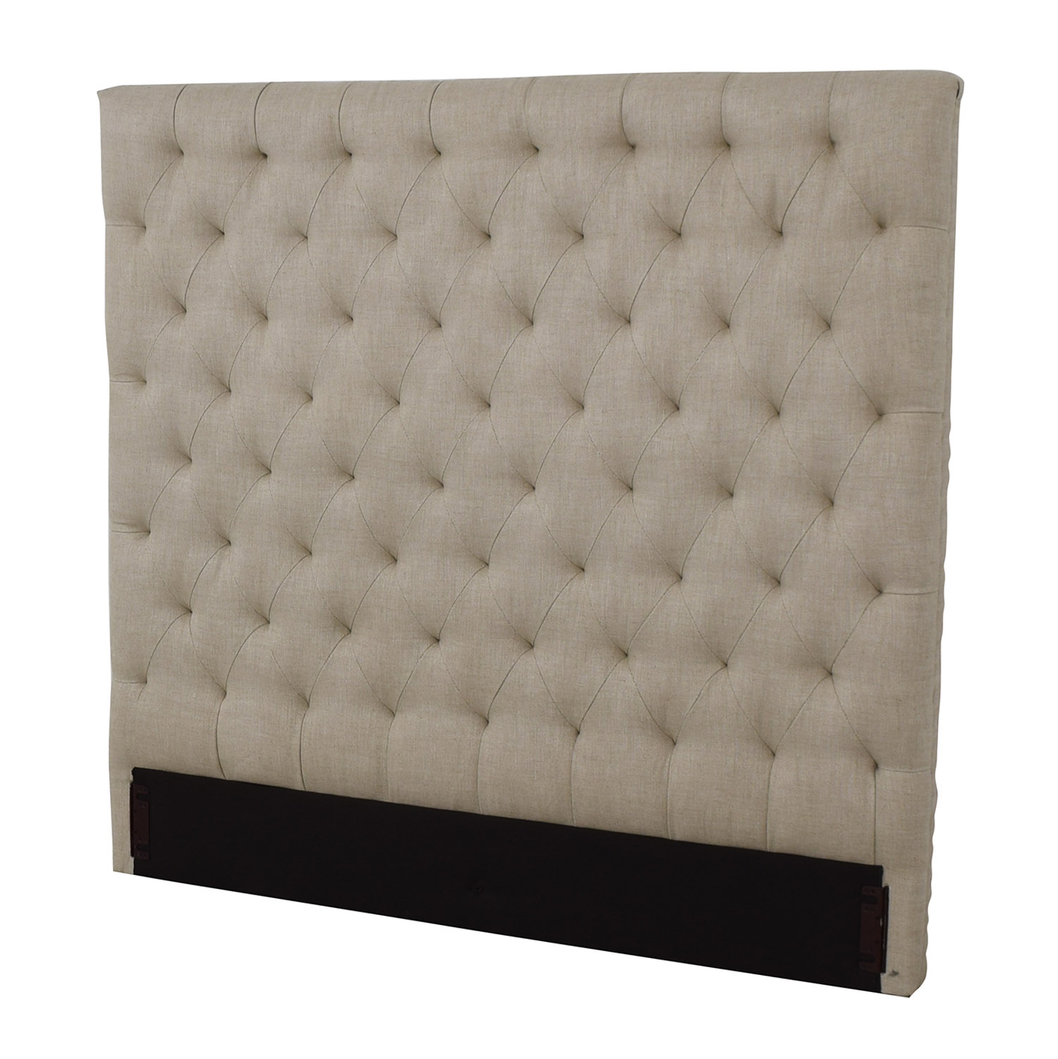 buy Restoration Hardware Restoration Hardware Chesterfield Fabric Panel Headboard online
