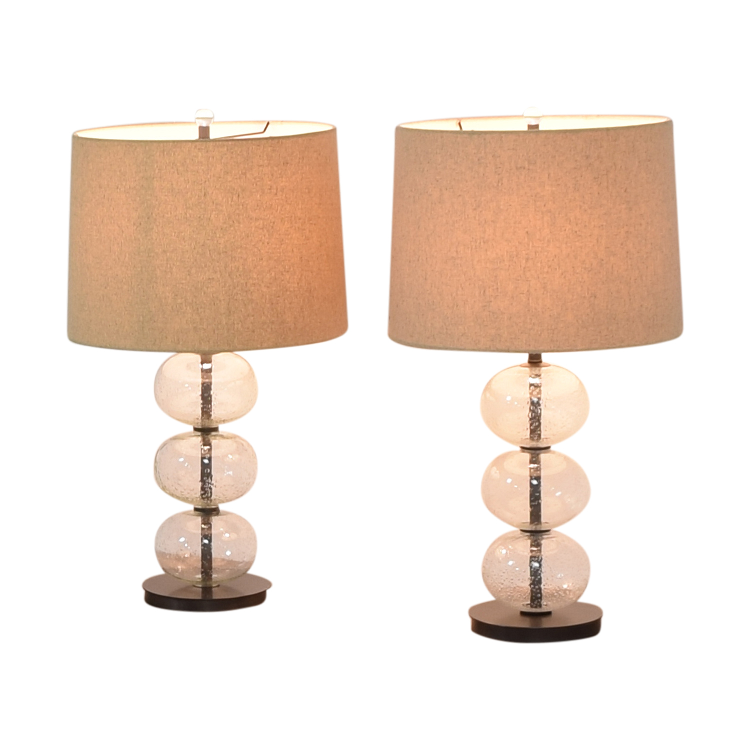 West Elm West Elm Abacus Lamps used