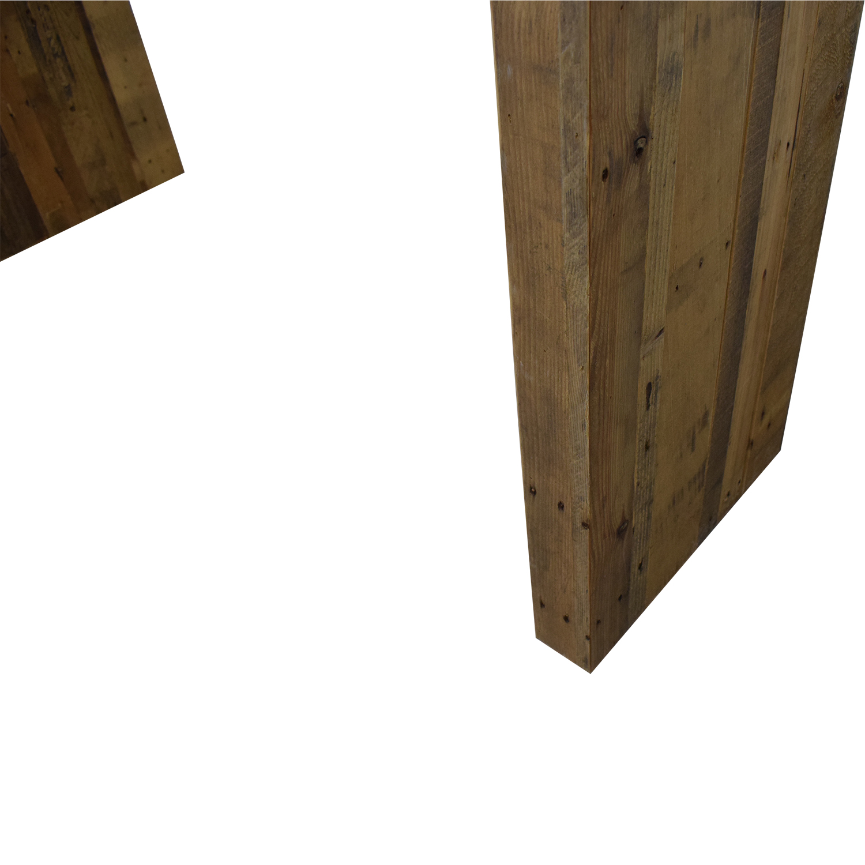 buy West Elm Reclaimed Wood Console West Elm Tables