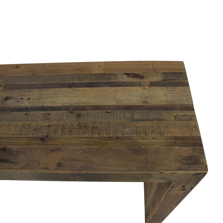 buy West Elm Reclaimed Wood Console West Elm