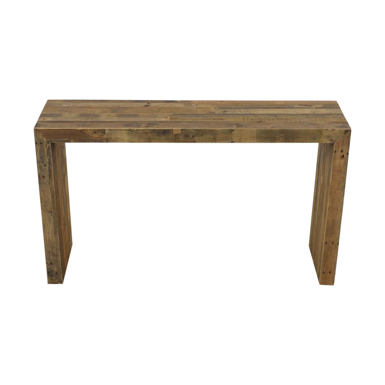 West Elm West Elm Reclaimed Wood Console Tables